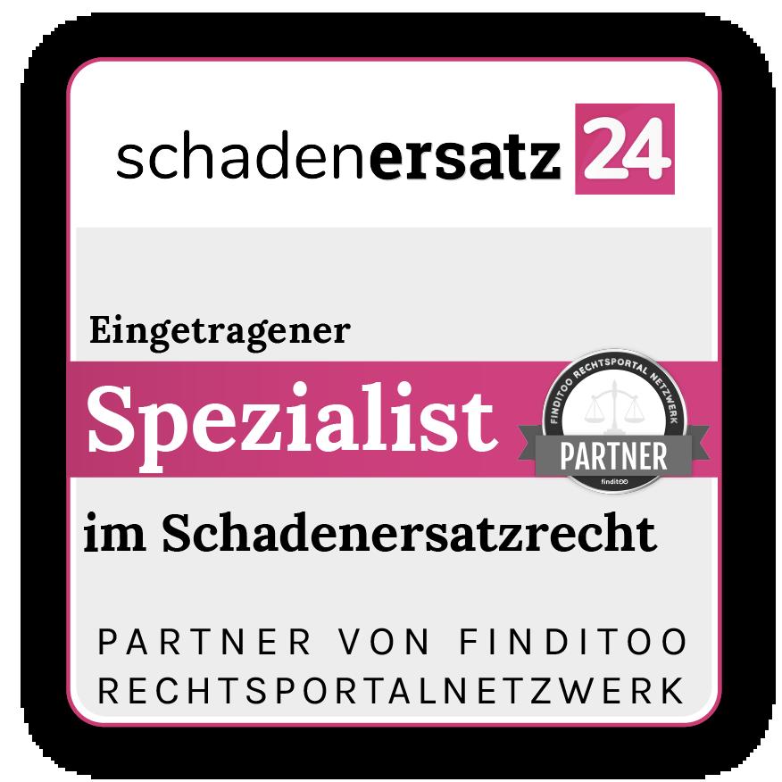 Siegel Rechtsportalnetzwerke-Schadenersatz24 Siegel final copy